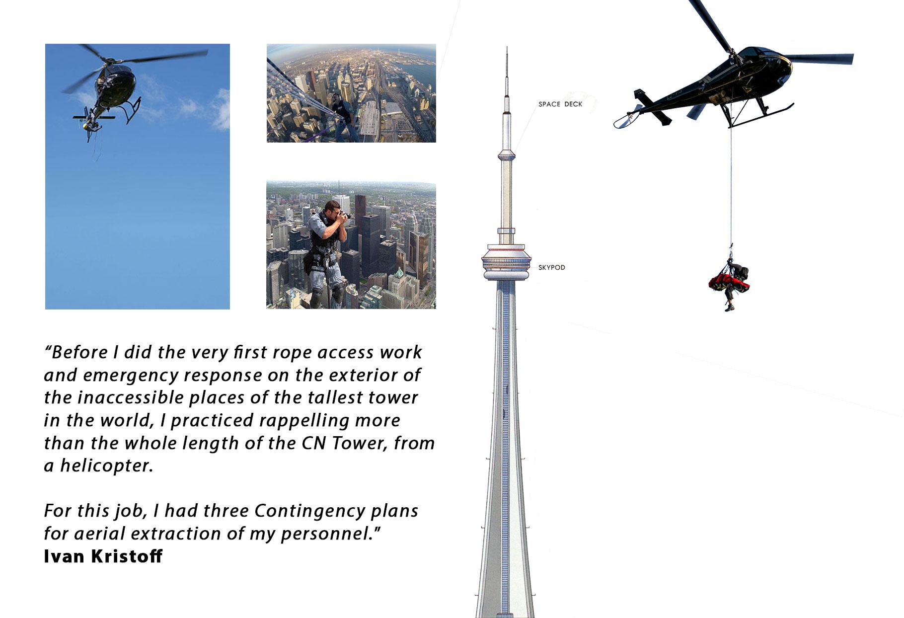 Solo free climber Ivan Kristoff ahd