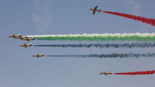 DUBAI AIRSHOW FLYING DISPLAY ANNOUNCED